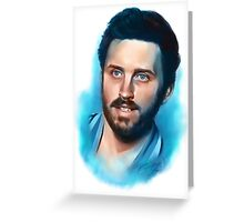 What If God Was One Of Us? Greeting Card