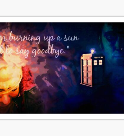 The Doctor and Rose Sticker