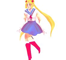 Sailor Moon by fandayo