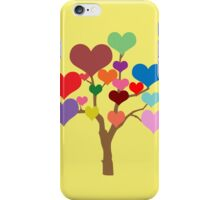 Tree of Hearts (Happy Valentines) iPhone Case/Skin