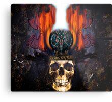 KING! Metal Print