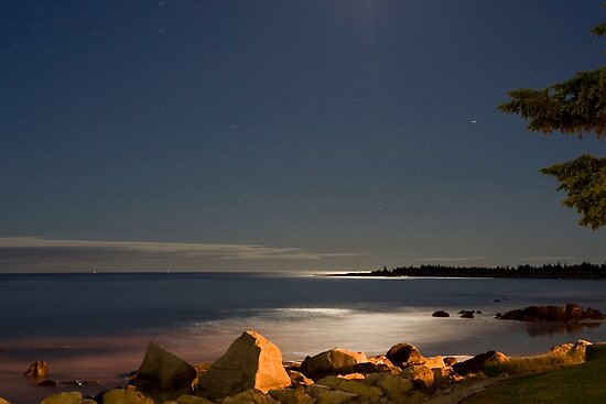 White Point At Night II by Scott Ruhs