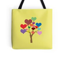 Tree of Hearts Tote Bag