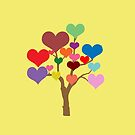 Tree of Hearts by CreativeEm