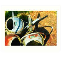 Three gallon watering cans Art Print