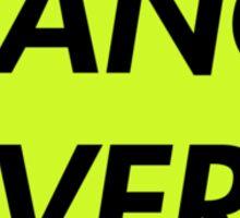 TRANCE FEVER (ELECTRO GREEN) Sticker