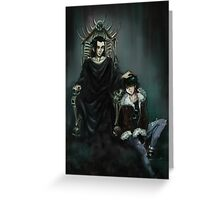 The son of hades Greeting Card