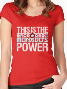 The Monado's Power Women's Fitted Scoop T-Shirt