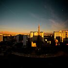 Vegas at Sunset by Phil Gribbon