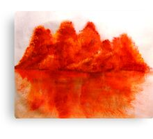 Red View  Canvas Print