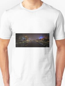 Melbourne in Fog Unisex T-Shirt