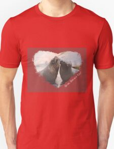 Give Us A Kiss (Seal Valentine)  T-Shirt