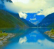 Lake Louise, Alberta, Canada 1973 by Priscilla Turner