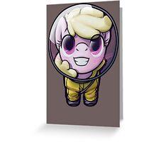 Hi! I'm [MORE OBNOXIOUS] Puppysmiles!  Greeting Card