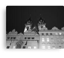 Prague by night Canvas Print