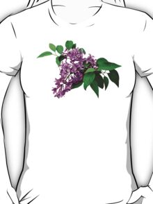 Lilacs and Leaves T-Shirt
