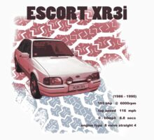 Escort XR3i T-Shirt Kids Clothes