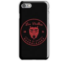 Los Diablos Club de Boxeo - distressed design iPhone Case/Skin