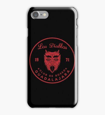 Los Diablos Club de Boxeo - distressed design iPhone Case/Skin