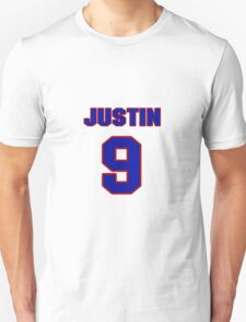 Basketball player Justin Reed jersey 9 T-Shirt