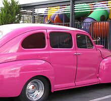 """""""H"""" for Hot Pink Hotrod by Marilyn Harris"""