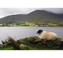 Irish Village of  Leenane. Photographic Print