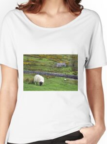 Stone Cottage Gorse and Sheep Women's Relaxed Fit T-Shirt