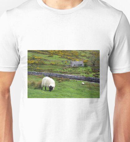 Stone Cottage Gorse and Sheep Unisex T-Shirt