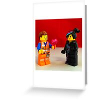 Emmet Loves Wyldstyle Greeting Card