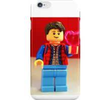Marty McFly Valentines iPhone Case/Skin