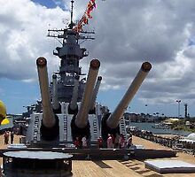 USS Missouri Memorial, Hawaii by chord0