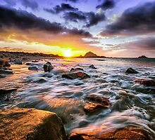 Tidal Sunrise by Alan Pryor by jerseygallery