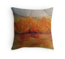 Fall  Orange  Throw Pillow