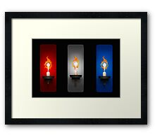 Shine. Framed Print