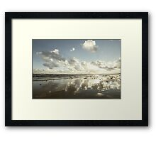 Earth delights to feel your bare feet Framed Print