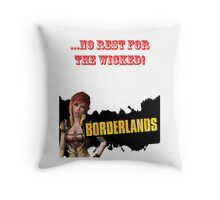 ...No rest for the wicked! Throw Pillow