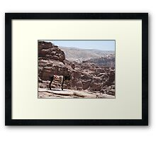 Donkey Heights Framed Print