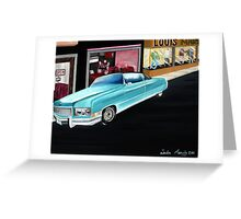Night On The Town Greeting Card