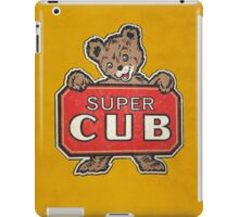 Super Cub iPad Case/Skin