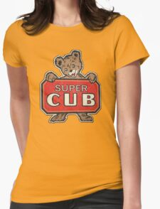 Super Cub Womens Fitted T-Shirt