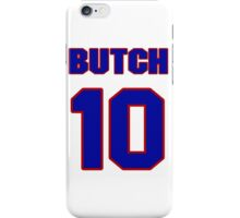 Basketball player Butch Graves jersey 10 iPhone Case/Skin