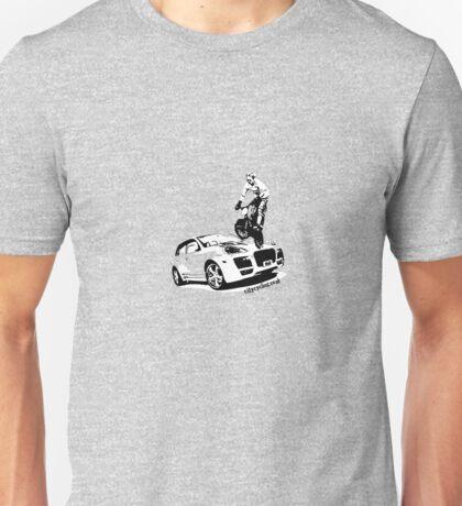 BMX versus SUV T-Shirt