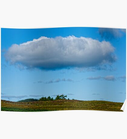 Lonely as a cloud Poster