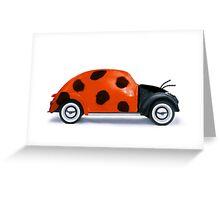 Lady beetle Greeting Card