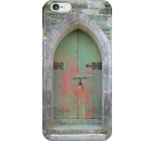 Irish Country Church Door iPhone Case/Skin