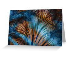 Marine Biota Greeting Card