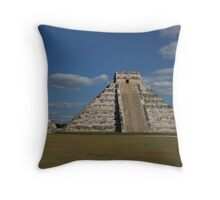 The Pyramid at Chichen Itza Throw Pillow