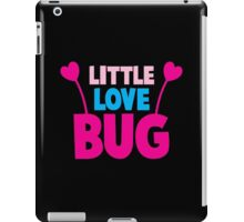 Little love bug with cute little antennae matching big love bug iPad Case/Skin