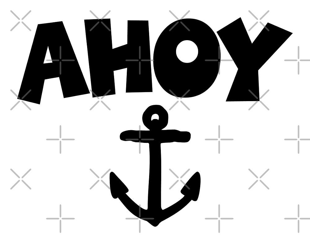 Ahoy Anchor Sailing Design by theshirtshops