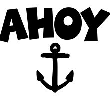Ahoy Anchor Sailing Design by theshirtshops